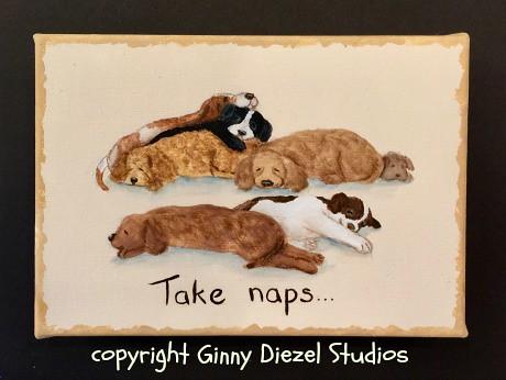 Take naps...