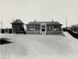 London & North Eastern Railway - Otterington station, Yorkshire, 1933