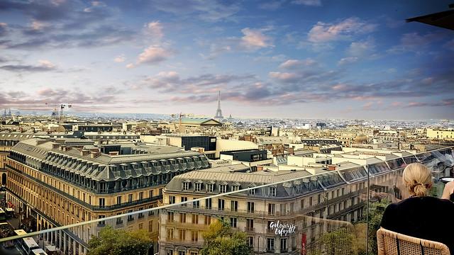 Terrasse des Galeries Lafayette Paris