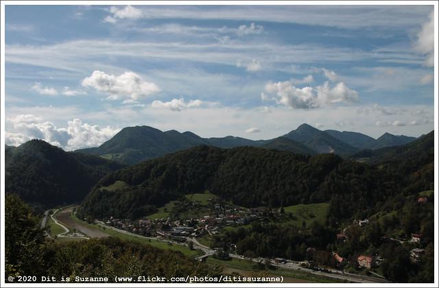 Uitzicht vanaf het kasteel van Celje | View from Celje Castle | Вид с Замка Целе