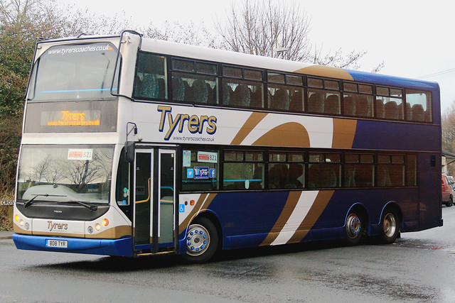 Tyrers Coaches 808TYR