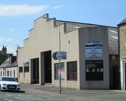 1930s Garage, Ladybank, Fife