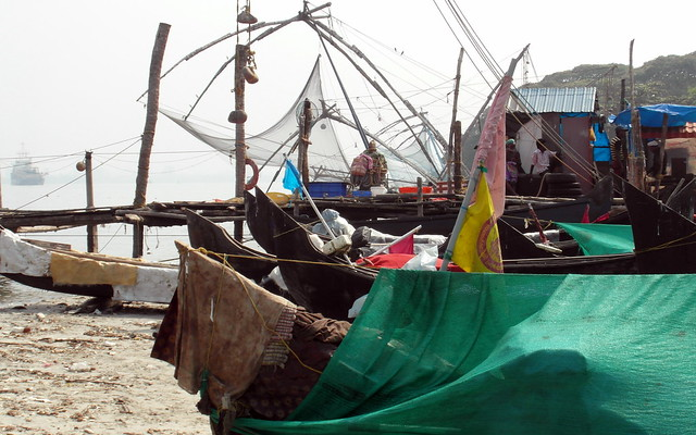 kochi fishing boats