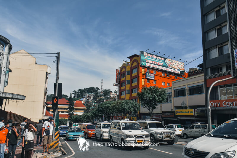 BAGUIO TOURIST SPOT: SESSION ROAD