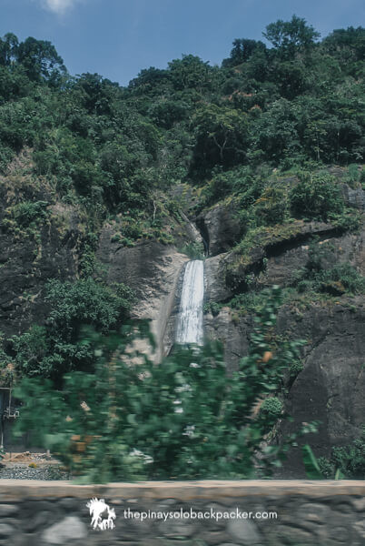 BAGUIO TOURIST SPOT: BRIDAL VEIL'S FALL