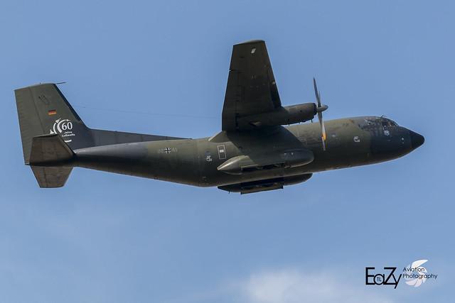 50+41 German Air Force (Luftwaffe) Transall C-160D