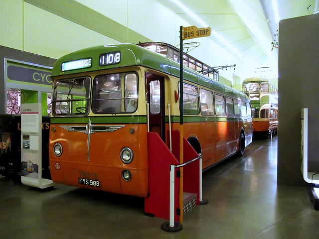 Glasgow BUT Trolleybus TBS 13