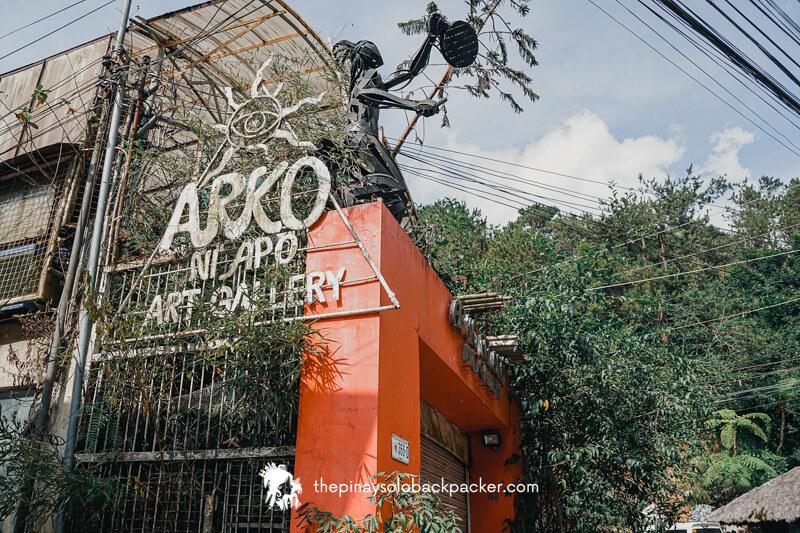 Baguio tourist spot: ARKO NI APO GALLERY