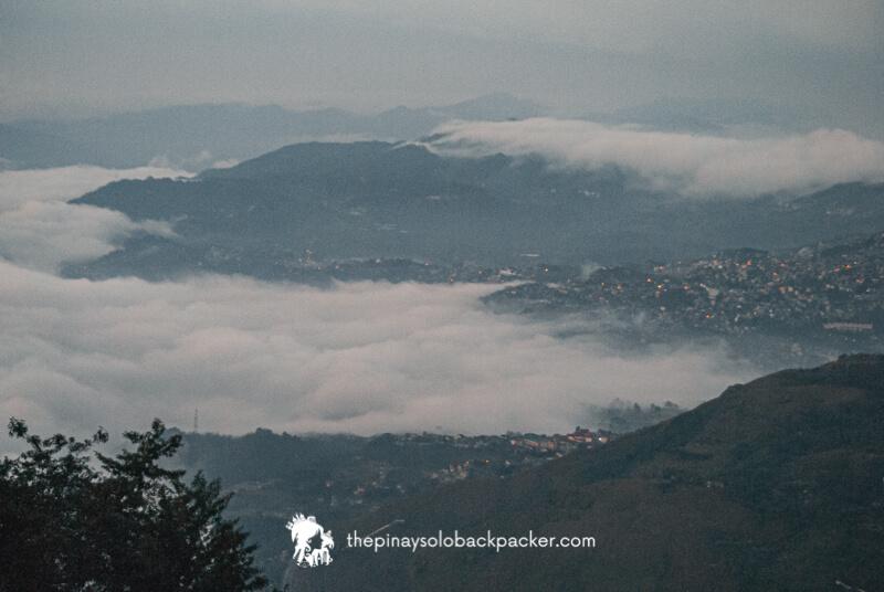 Baguio tourist spot: baguio view