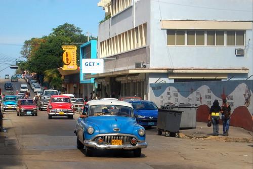 blue bluecar cuba oldcar classiccar travel landscape landscapes