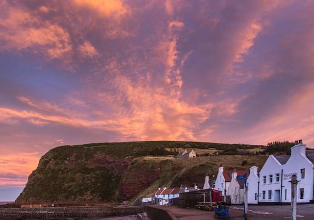 Fiery skies over Pennan. Couldn't choose just one image!!