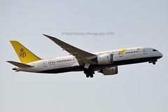 Royal Brunei Airlines V8-DLC Boeing 787-8 Dreamliner cn/34789-156 @ EGLL / LHR 26-05-2018