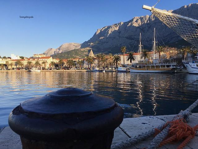Mornings in Makarska