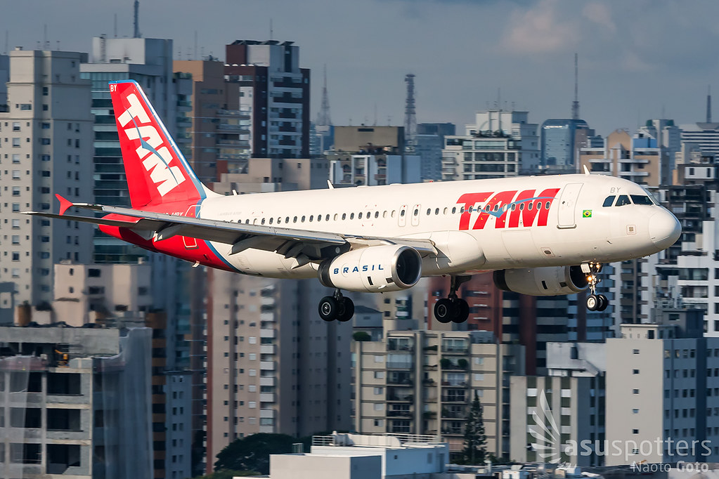 A320 de LATAM Brasil