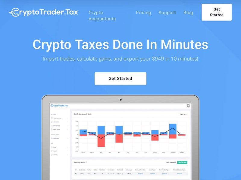 CryptoTrader Tax