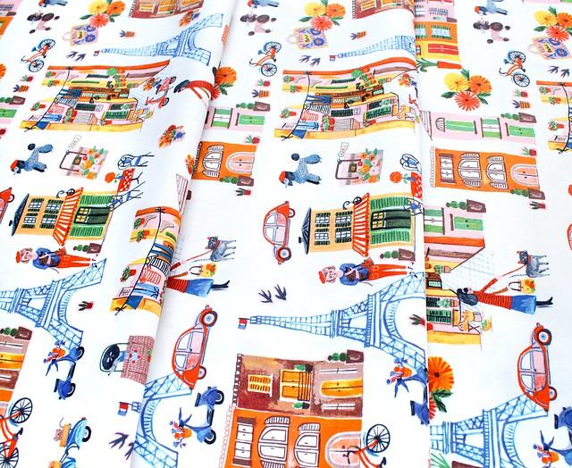 Windham Fabrics Ooh La La Multi Ooh La La Paris