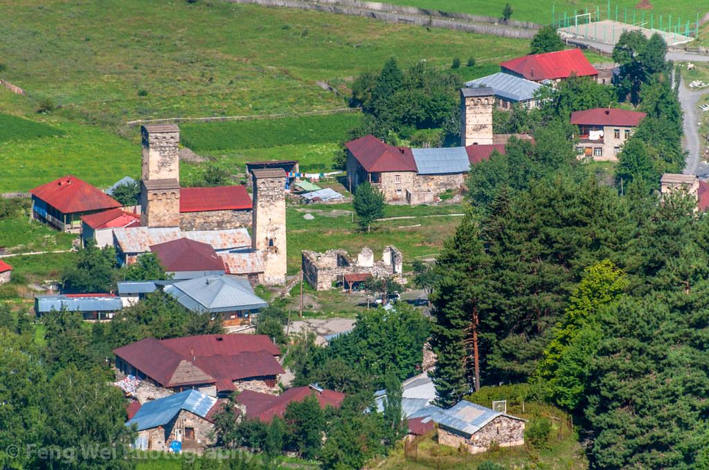 Zhabeshi, Svaneti Region, Georgia