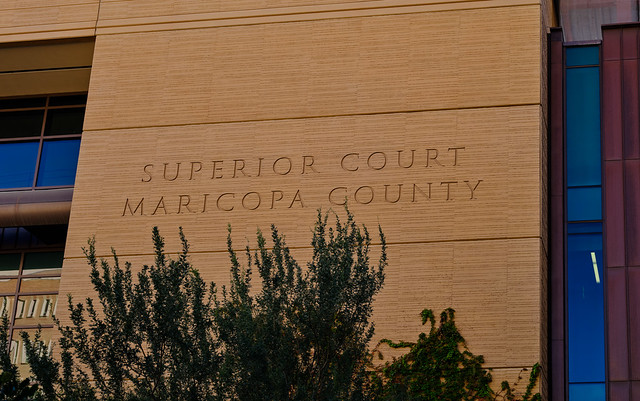 Maricopa County Superior Courthouse, Phoenix, Arizona