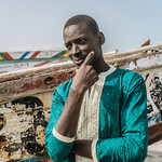 Portrait at Fish Market, Nouakchott, Mauritania