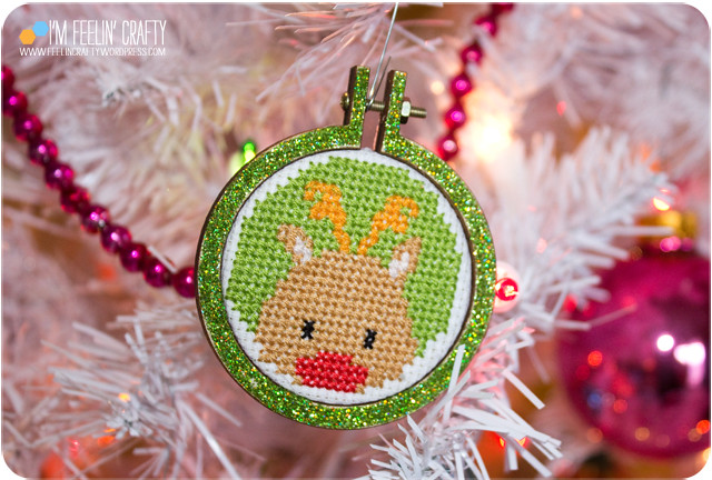 CrossStitchOrnaments-Reindeer2-ImFeelinCrafty