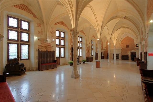 Salle du conseil - Château royal d'Amboise