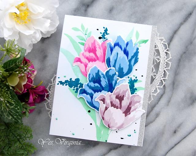 triumph tulips -001