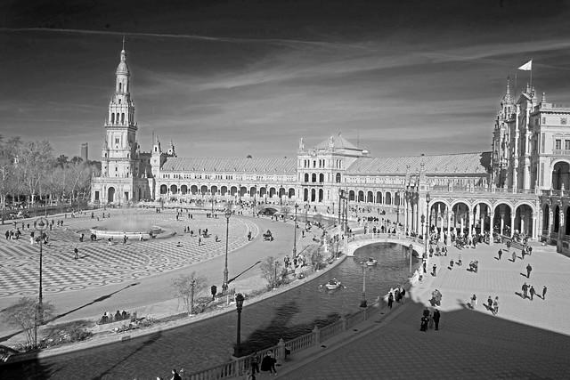 View over Plaza de Espana
