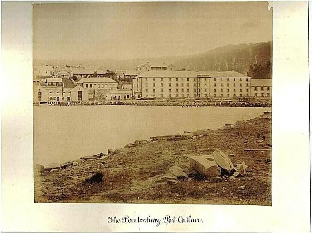 The Penitentiary at Port Arthur, Tasmania - circa 1880s