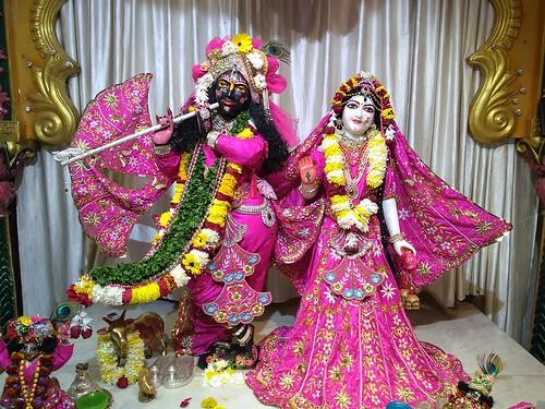 ISKCON Amravati Deity Darshan 07 Jan 2020