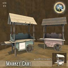 DDDF * Vintage Market Cart