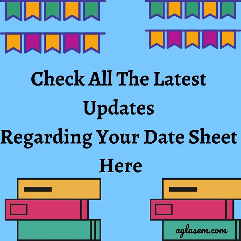 NIOS Date Sheet 2020