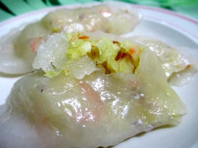 Chai kueh, filling