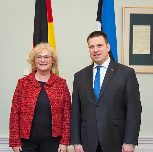 Saksamaa justiitsminister Christine Lambrecht, 07.01.2020