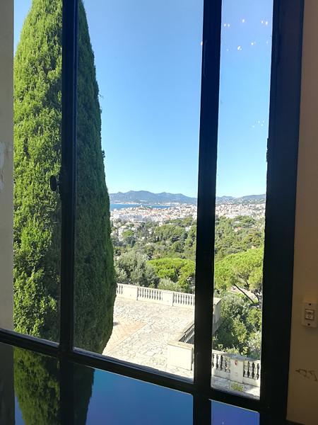 vue depuis la villa domergue