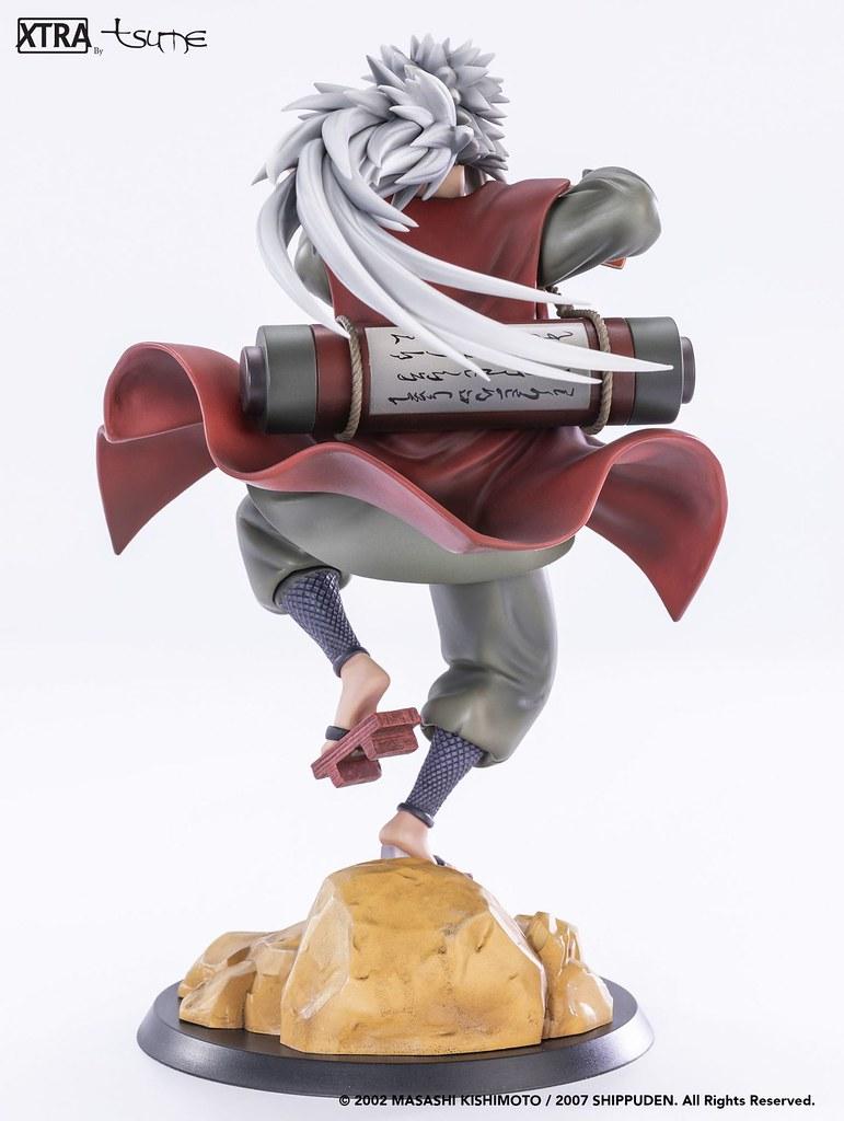 好色仙人本性不改!Tsume-Art《火影忍者疾風傳》XTRA系列 自來也 雕像作品(Jiraiya Xtra)