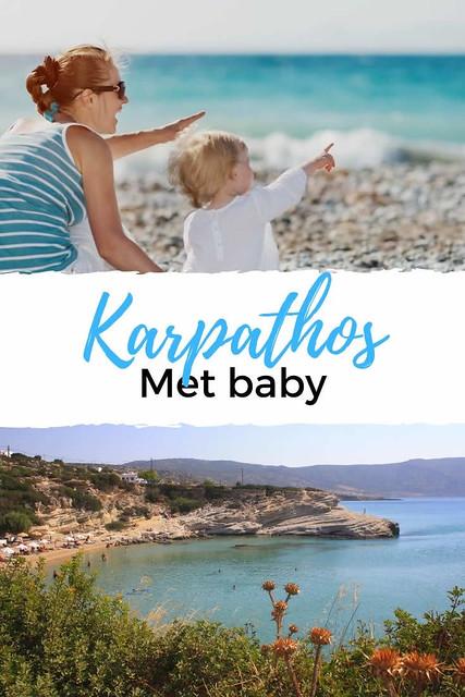 Karpathos met baby | Plan een vakantie Karpathos met een baby