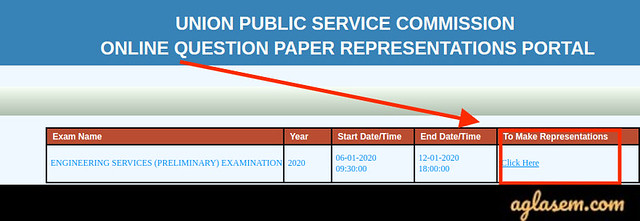 UPSC IES Question Paper Representation 2020