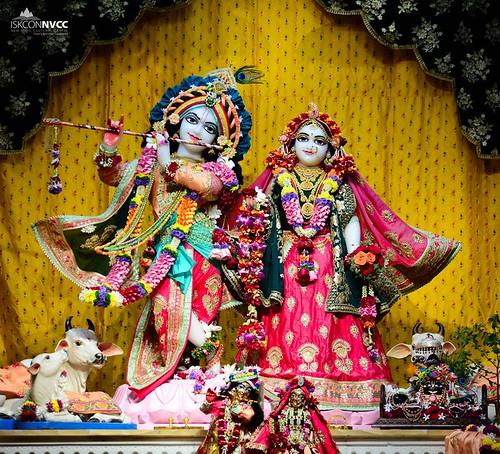 ISKCON Pune NVCC Deity Darshan 07 Jan 2020