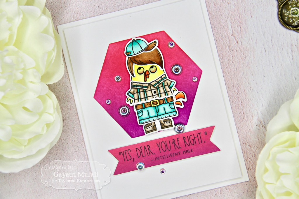 Gayatri Scarastic Chuck card
