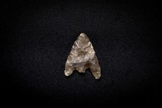 Flint Arrowhead - Wessex Archaeology Loan Box