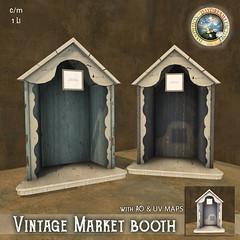 DDDF * Vintage Market Booth