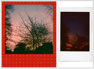 Sunrise ... Polaroid Originals vs Fuji Instax