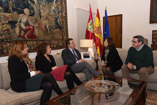 Reunión con la presidenta de CERMI