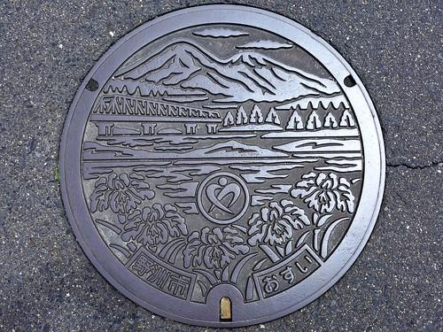 Yasu Shiga, manhole cover (滋賀県野洲市のマンホール)