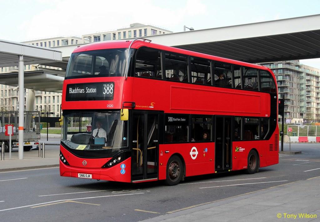 SN16OJK Hackney Community Transport CT Plus 2520