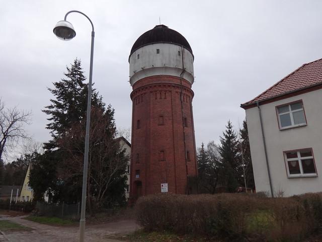 1899 Zossen Wasserturm der Eletricitäts Aktien Gesellschaft Köln-Berlin von David Grove B246 Gerichtsstraße 40-41 in 15806