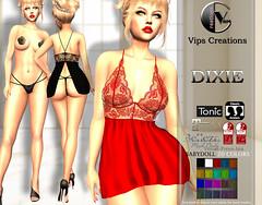 Female Dress - [Dixie]
