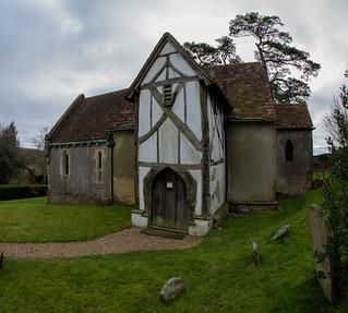 Little Hampden Church.