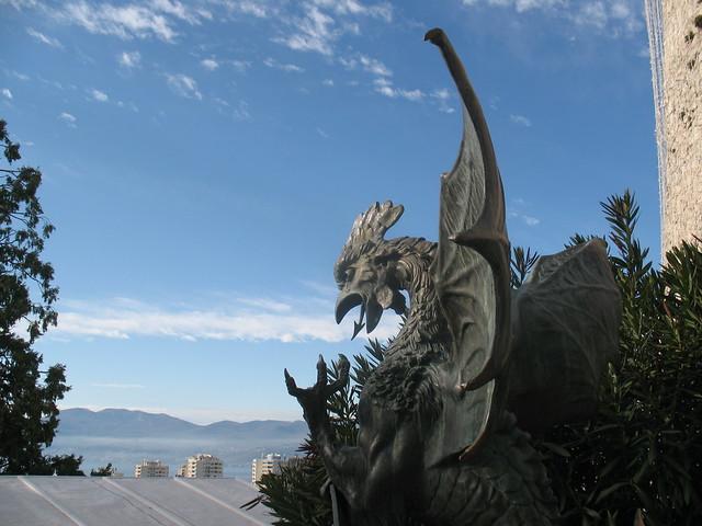 Dragon on Trsat castle