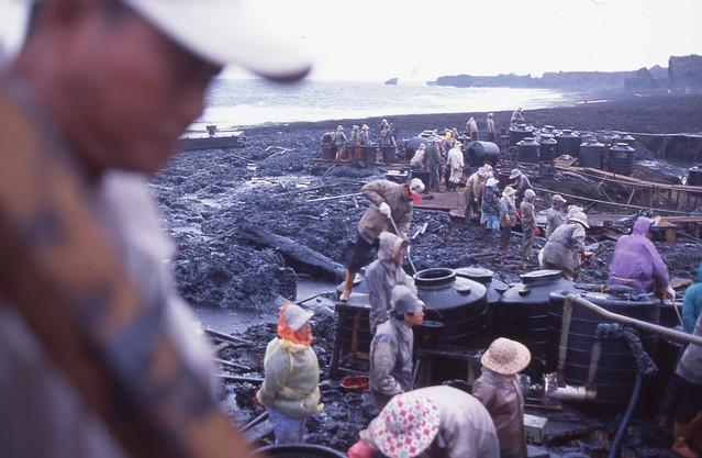 2001.01阿瑪斯 恆春龍坑油汙染(2)